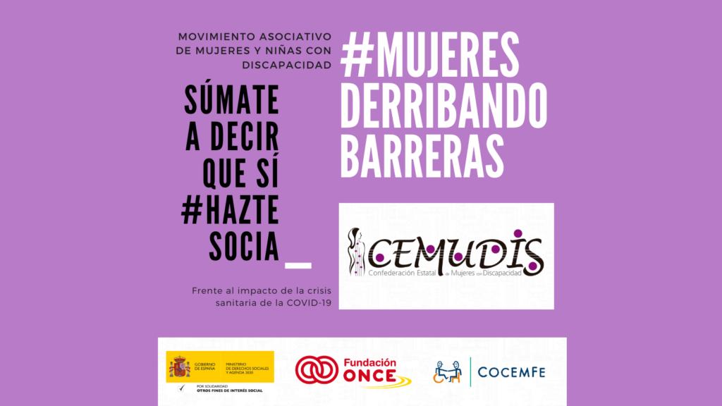 Cartel proyecto CEMUDIS 2021